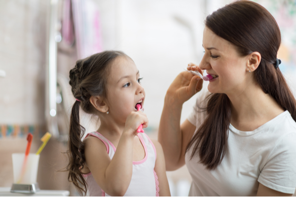 How to model good oral hygiene for your kids
